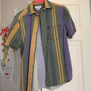 Urban Outfitters short sleeve collared button up.